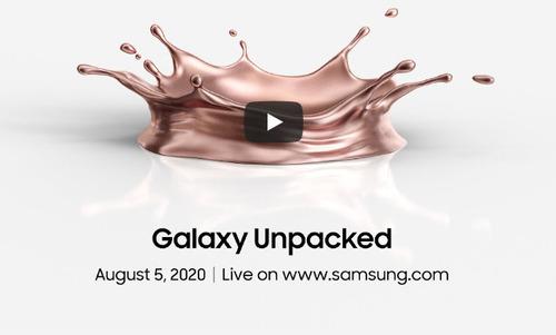 Le lancement du Samsung Galaxy Note 20 aura lieu le 5 août