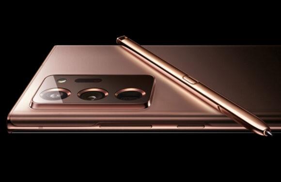 La Samasung Galaxy Note 20 à partir de 999$